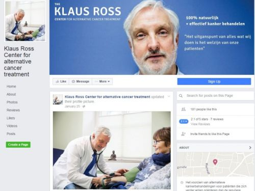Klaus Ross website