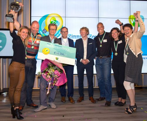 Zinnige zorg award foto team keer diabetes om